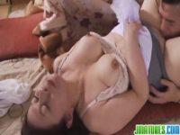 高齢者の夫婦が朝から濃厚な性交をして豊満完熟な身体を揺らしおまんこしてる塾女性誌40a 動画